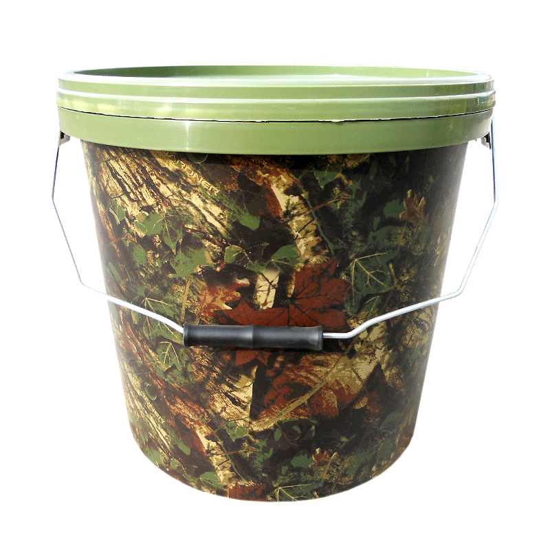 Ведро для прикормки Gardner Camo Bucket Large 15litre
