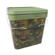Ведро для прикормки пластиковое Gardner Square Camo Buckets Large 17 litre