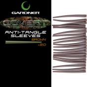Конус силиконовый Gardner Anti- Tagle Sleeves C-Thru Brown