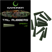 Конус силиконовый Gardner Covert Tail Rubbers Green