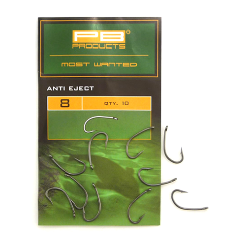 Крючки PB Products Anti- Eject Hooks № 4 DBF 10шт
