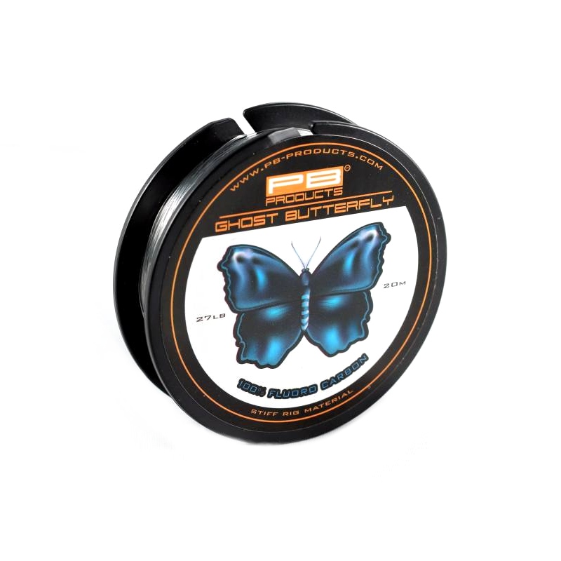 Поводковый материал флюорокарбон PB Products Ghost Butterfly 27lb 20m