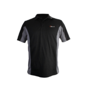 Футболка PROLogic с воротником Polo T-shirt M Black