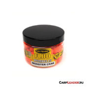 Бойлы плавающие Fun Fishing Fluo Pop Up Dumbells Monster Crab Micro 10mm краб