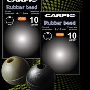 Бусина Резиновая 6Х1.2мм Carpio Rubber Bead Khaki