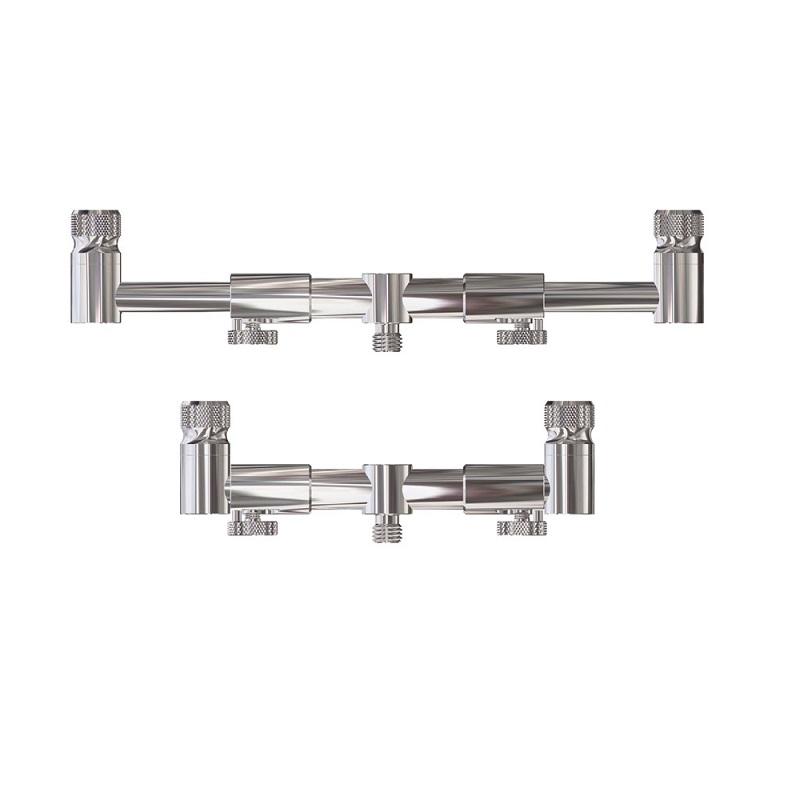 Перекладина для 2 удилищ раздвижная JAG 2 Rod Buzzbar Adjustable Front нерж