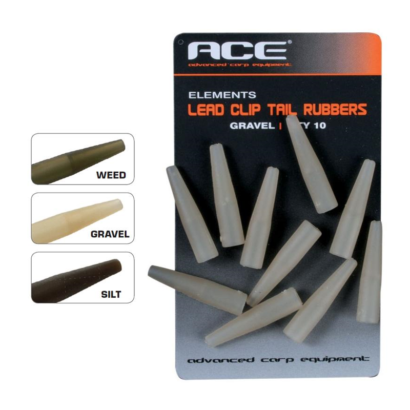 Конус для клипсы ACE Lead Clips Tail Rubber- Silt