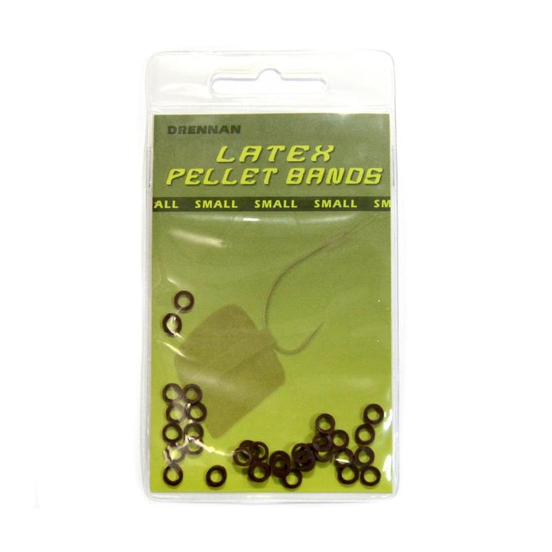 Кольца силиконовые DrennanLatex Pellets Bands Small 30 шт.
