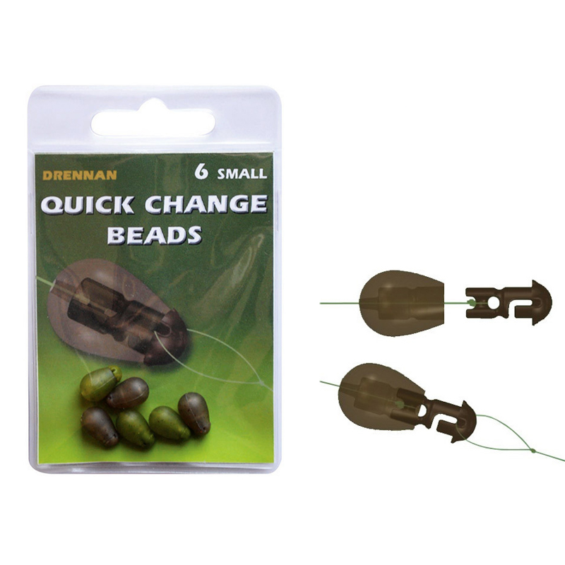 Быстросъем для поводка Drennan Quick Change Beads Small