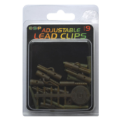 Набор безопасных клипс ESP Adj LeadClip-ChoddySilt sz9