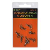 Вертлюжок с двойным кольцом ESP Double Ring Swivel