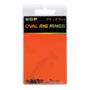 Кольцо соеденительное ESP Oval Rings 4.5mm
