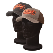 Бейсболка Fox Chunk Twill Trucker Cap — Black/Grey