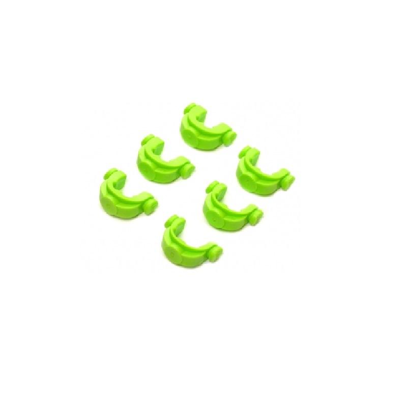 Противоскользящие вставки в зад. держатель JAG Large Green Inserts под разный диаметр уд. 6 шт