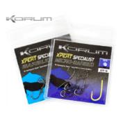 Крючки карповые Korum №10 Xpert Specialist Mikro Barbed Hooks