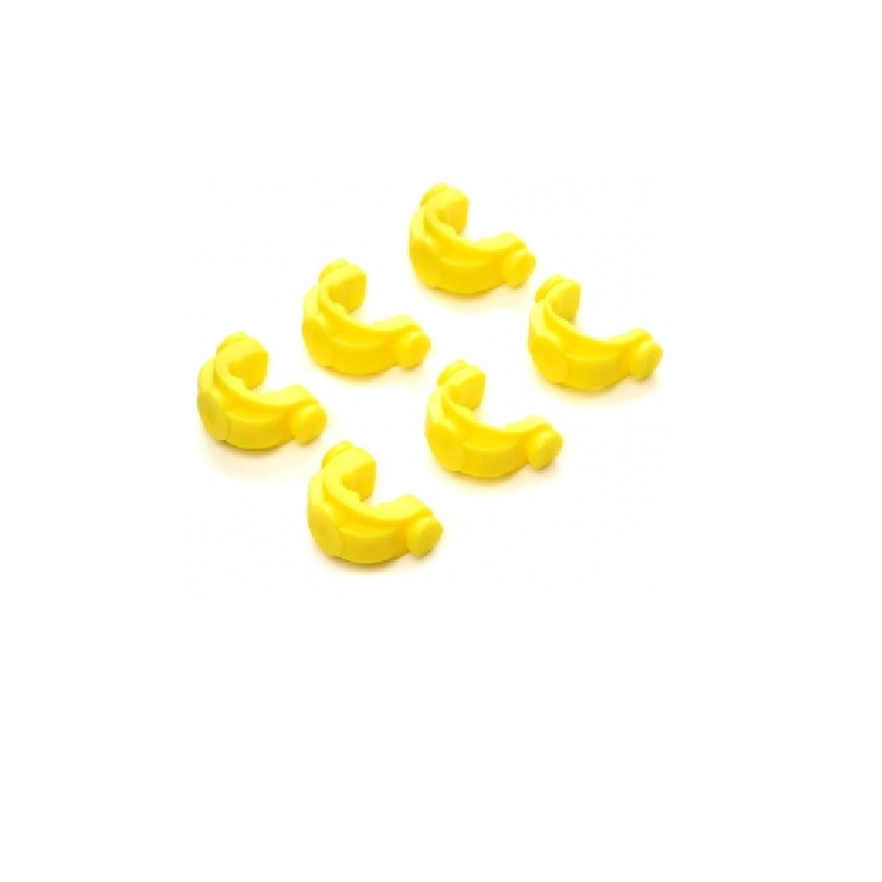 Противоскользящие вставки в зад. держатель JAG Large Yellow Inserts под разный диаметр уд. 6 шт