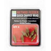 Коннектор фидерный для оснастки Метод Preston Innovations Method Feeder Quick Change Bead
