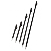 Телескопическая стойка для твердого грунта Fox Black Label Bankstick 18in — 45cm Powerpoint