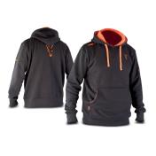 Толстовка с капюшоном Fox Black & Orange Hoody — M