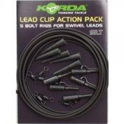 Клипса на трубке Korda Lead Clip Action Pack Slit