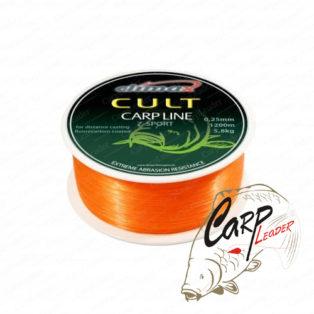 Леска Climax Cult Carp Line Z-Sport orange 0,28mm 6,1kg 1000m