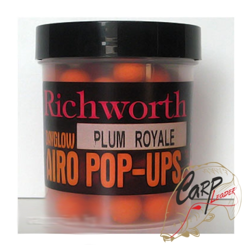 Бойлы плавающие Richworth Airo Pop-Up 14 mm Plum Royale
