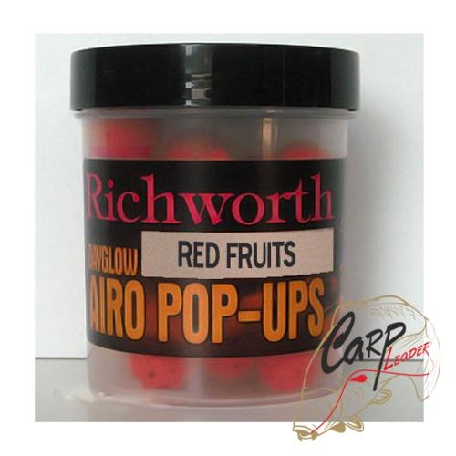 Бойлы плавающие Richworth Airo Pop-Up 14 mm Red Fruits