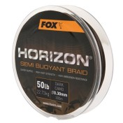 Плетенная леска Fox Horizon Semi Buoyant Braid — Camo Braid 0.30/50lb x300m