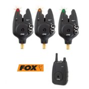 Набор сигнализаторов с с пейджером Fox Micron MXr+ — 3 Rod Set Red/Orange/Green