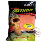 Прикормка Traper 00124_ Method Mix Strawberry 1кг