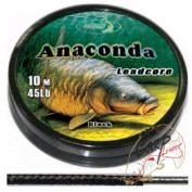 Лидкор Katran Anaconda 45Lb 10 м — черный