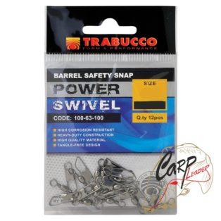 Набор вертлюгов с карабином Trabucco Barrel Saferty №12