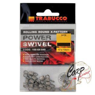 Набор вертлюгов Trabucco Rolling Round X-Pattern №24