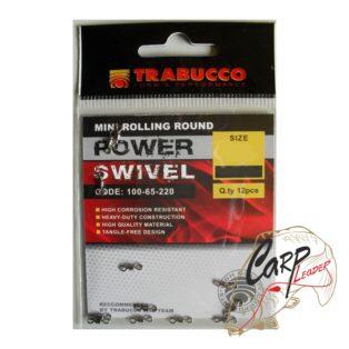 Набор вертлюгов Trabucco Mini Rolling Round №22