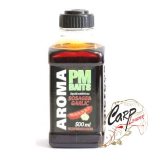 Ликвид PMbaits Liquid Aroma Sosage & Garlic 500ml