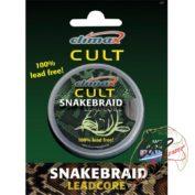 Ледкор без свинца Climax Cult SnakeBraid 30lb 10 m Silt