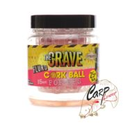 Бойлы плав. Dynamite Baits 15 мм. Pink Crave Fluro Cork Ball