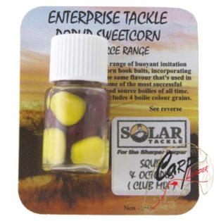 Кукуруза в дипе иск.Enterprise Tackle Food Source Popup Sweetcorn Range Solar -Squid & Octopus Yello