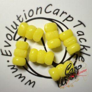 Искусственная плавающая приманка Evolution Corn Ball Stacks Yellow/Glow 6 шт.