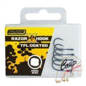 Крючки карповые MAD Razor X-Hook TFL Coated — №4 — 10шт.
