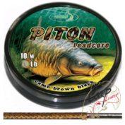 Лидкор Katran Piton 35Lb 10 м — камуф. коричневый