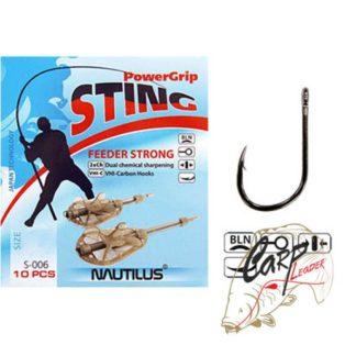 Крючок Nautilus Sting Feeder Strong S-006BLN № 6