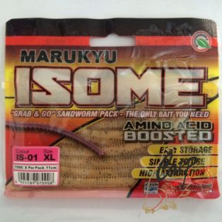 Силиконовые приманки Marukyu Power Isome X Large White