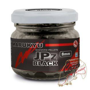 Пеллетс насадочный в дипе Marukyu JPz Black 8mm 50g Jar