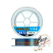 Плетенный шнур YGK Veragass X4 PE 150m -0.6 12 lb