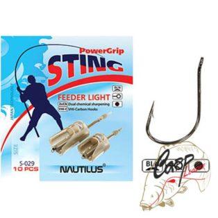 Крючок Nautilus Sting Feeder Light S-029BLN № 6