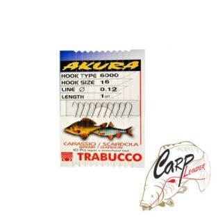 Набор крючков с поводками Trabucco Akura Breme №16×0