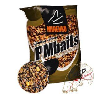 Прикормка Minenko PMbaits Big Pack Ready To Use Spod Mix Garlik 4кг