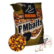 Прикормка зерновая Minenko PMbaits Big Pack Ready To Use Mix №1 Chili кукуруза
