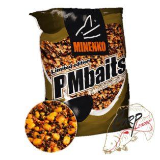 Прикормка зерновая Minenko PMbaits Big Pack Ready To Use Mix №1 Chili кукуруза